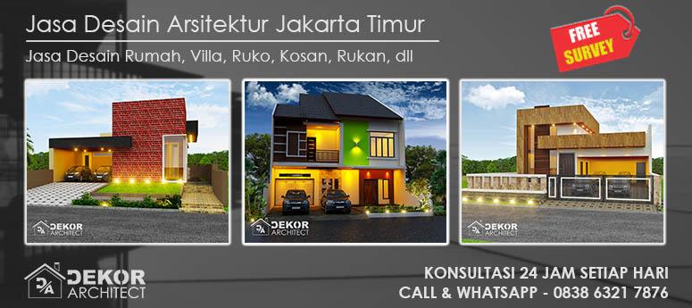 Jasa Desain Arsitektur Jakarta Timur