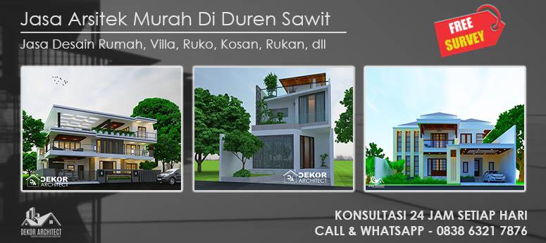 Jasa Arsitek Murah Di Duren Sawit