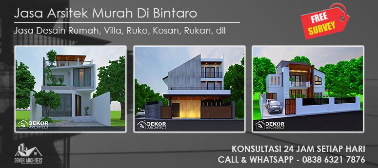 Jasa Arsitek Murah Di Bintaro