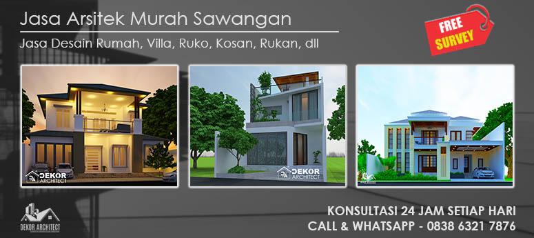 Jasa Arsitek Murah Sawangan